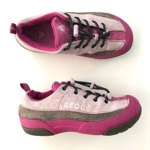 Crocs Girls Pink Sneakers